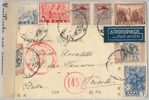 56192 -   GREECE -  POSTAL HISTORY:   COVER 1942