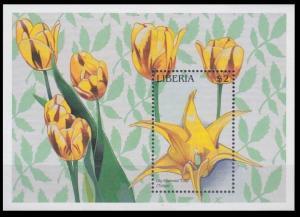 1997 Liberia 1905/B166 Flowers 7,00 €