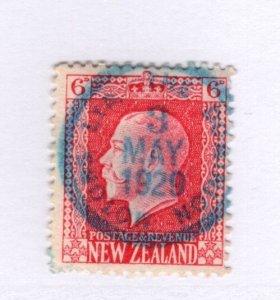 New Zeland #154 NICE CANCEL!!! Used - Stamp - CAT VALUE $.55++++