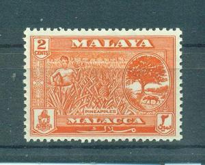 Malaya - Malacca sc# 57 mh cat value $.25