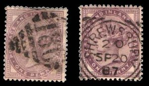 Great Britain  #88 & 89U