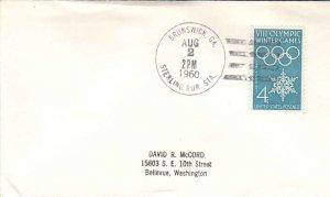 United States Georgia Sterling Rur. Sta. Brunswick 1960 4f-bar  1960-1972  Ph...