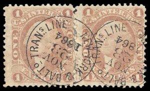 U.S. REV. FIRST ISSUE R1c  Used (ID # 95264)