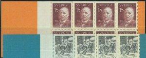 91454a - SWEDEN - STAMPS: Booklet   Mi # 453 - 1959 Nobel Prize Svante Arrhenius