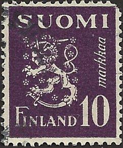 FINLAND - 261 - Used - SCV-0.25