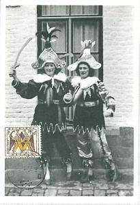 CARNIVAL: MAXIMUM CARD - BELGIUM 1958