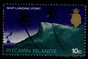 PITCAIRN ISLANDS QEII SG101a, 10c, NH MINT.