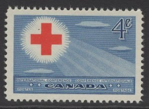 CANADA SG442 1952 INTERNATIONAL RED CROSS CONFERENCE MNH