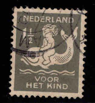 Netherlands Scott B37 Used semi-postal