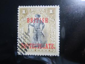 North Borneo #105 used