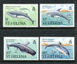 St Helena 483-486, MNH, 1987. Marine Life. x29483