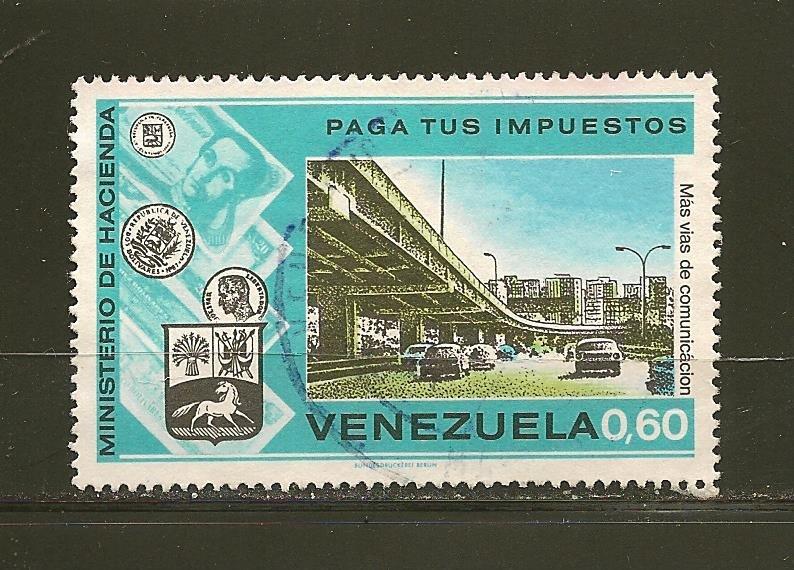 Venezuela 1077  Used
