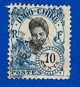 Indo-China 1922 - U - Scott #107 *