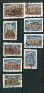 Russia #1449-57 Used