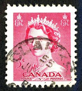 Canada #327 Used