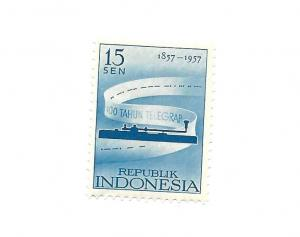 Indonesia 1957 - Scott #437