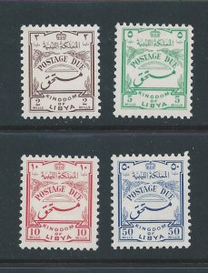 Libya #J37-40 MH 1952 Postage Dues