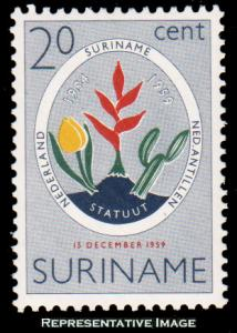 Surinam Scott 276 Mint never hinged.