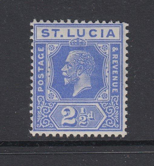 St. Lucia, Scott 81 (SG 96), MNH