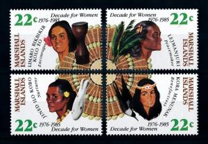 [71708] Marshall Islands 1985 Decade for Women  MNH