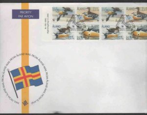 ALAND #185e  2001  WWF FUND FOR NATURE      MINT VF NH  O.G  FDC