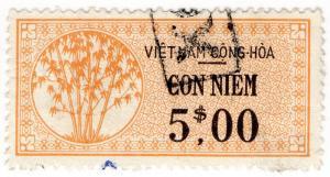 (I.B) Vietnam Revenue : Duty Stamp $5