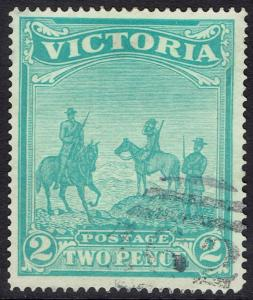VICTORIA 1900 BOER WAR CHARITY FUND 2D USED