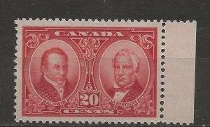 Canada SC# 148    Mint,  VF  NH
