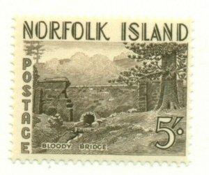 NORFOLK ISLAND #18, Mint Hinged, Scott $26.00