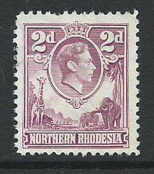 Northern Rhodesia  SG 33 VFU