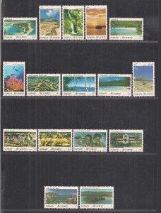 VANUATU SC# 595-610   FVF/MNH   1993
