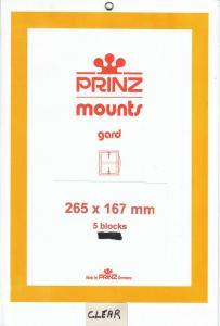 PRINZ 265X167 (5) BLACK MOUNTS RETAIL PRICE $13.50