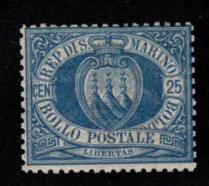 San Marino Scott 14 MH* 1899 stamp