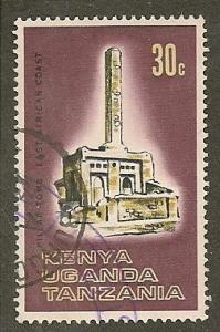 Kenya-Uganda-Tan.  Scott  176   Tomb   Used
