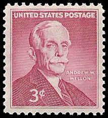 PCBstamps   US #1072 3c Andrew Mellon, MNH, (PCB-7)