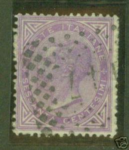 ITALY Scott 32 used 19th century stamp
