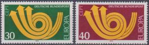 Germany #1114-5 MNH F-VF  (A8998)