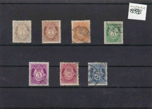 NORWAY MOUNTED MINT OR USED STAMPS ON  STOCK CARD  REF R856