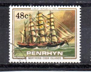 Penrhyn Islands 277 used (A)