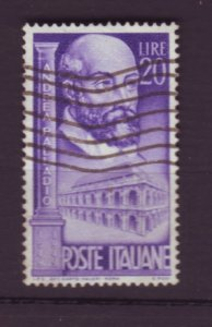 J22628 Jlstamps 1949 italy set of 1 used #525 palladio