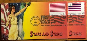 Scott 3403a-t Historic American Flag Set of 20 Heritage Cachet First Day Covers