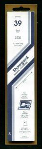 Showgard BLACK Strip Mounts Size 39 = 39 mm Fresh New Stock Unopened