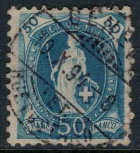 Switzerland #86b  CV $27.50