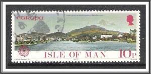Isle of Man #100 Europa Used