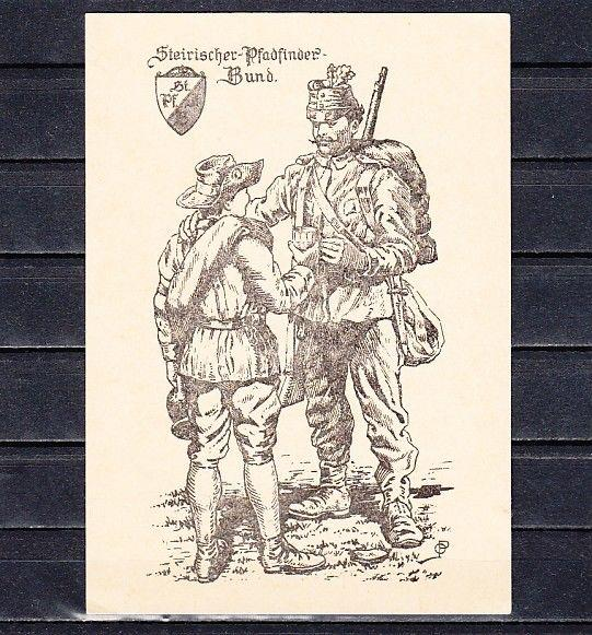 Austria, Pathfinder Post Card. #141/16