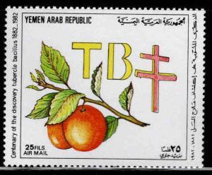 Yemen Scott C110 MNH** 1982 TB stamp
