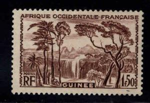 FRENCH GUINEA Scott 151 MH* stamp
