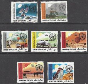 Qatar 347-53  MNH WMO