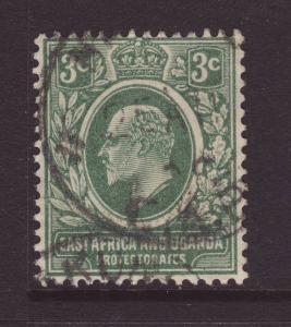 1907 East Africa & Uganda 3c Fine Used