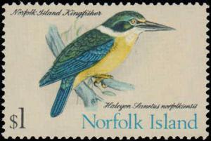 1970-1971 Norfolk Islands #126-140, Complete Set(15), Hinged